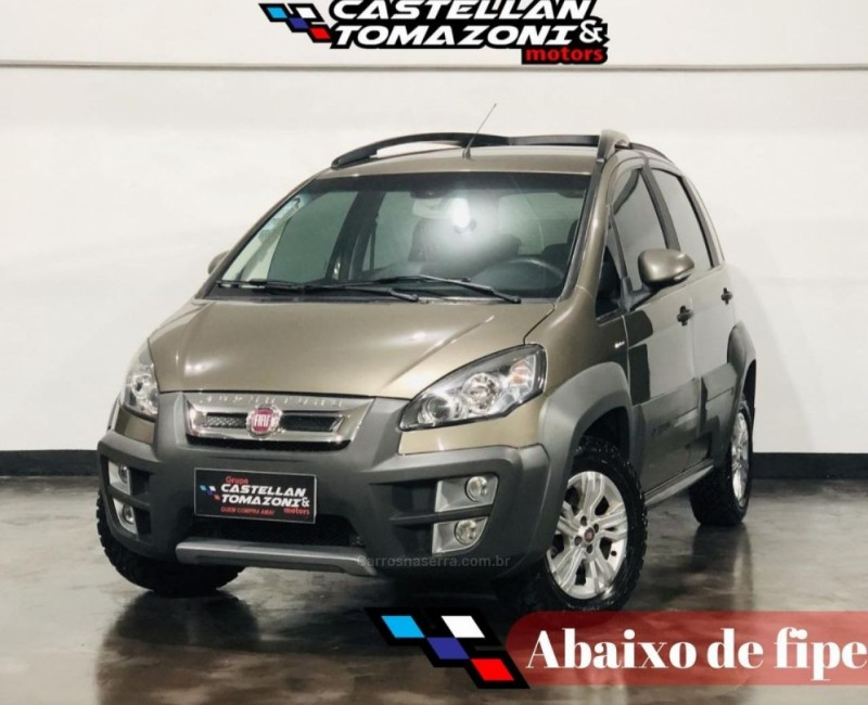 idea 1.8 mpi adventure 8v flex 4p automatizado 2014