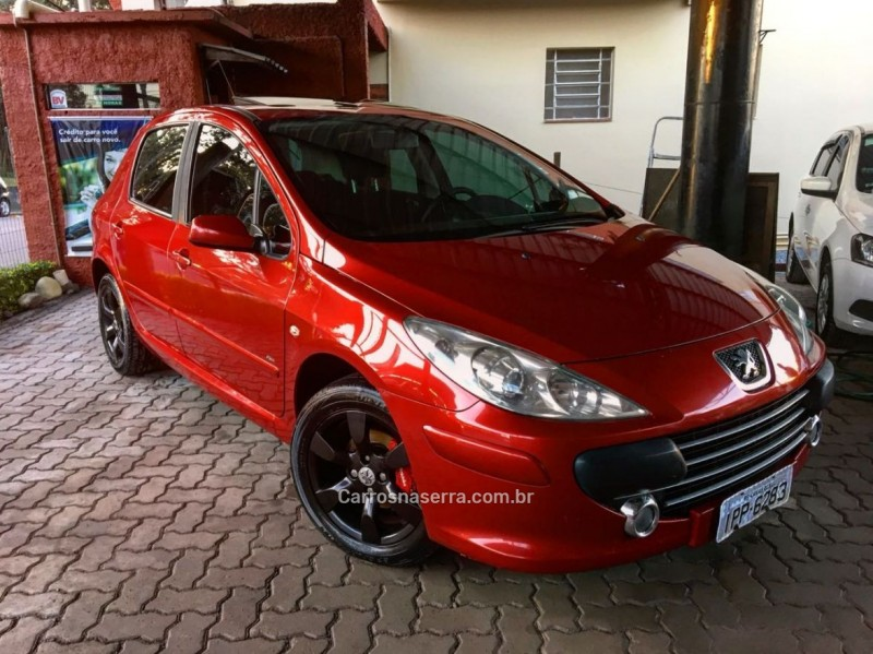 307 1.6 presence pack 16v gasolina 4p manual 2009 caxias do sul