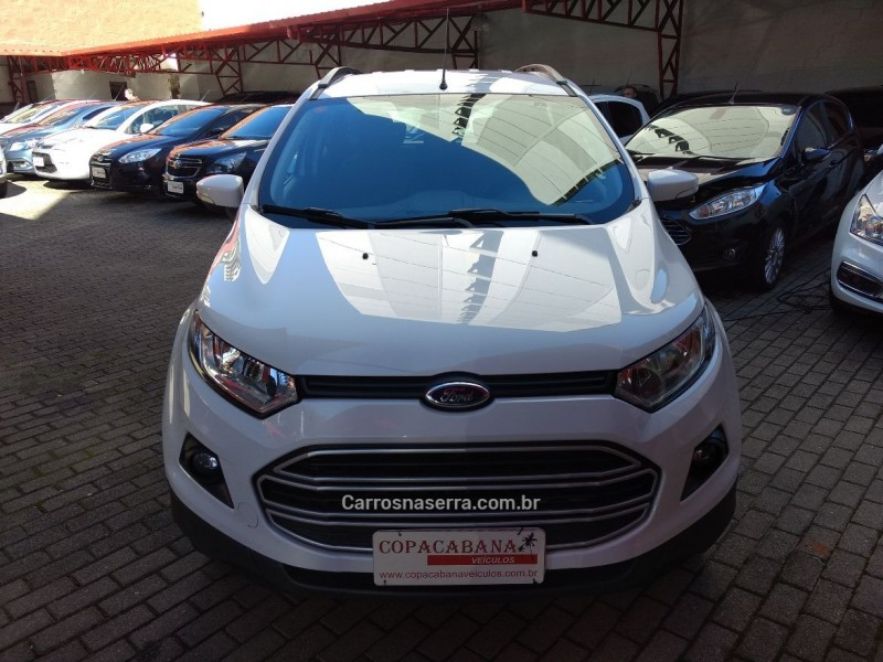 ecosport 1.6 se 16v flex 4p powershift 2016 caxias do sul