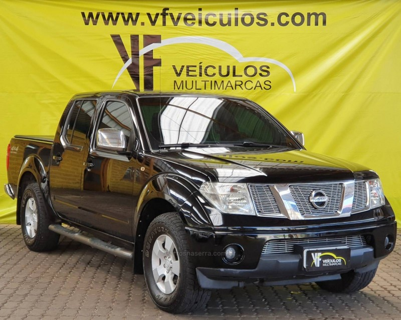 frontier 2.5 sel 4x4 cd turbo eletronic diesel 4p manual 2008 caxias do sul