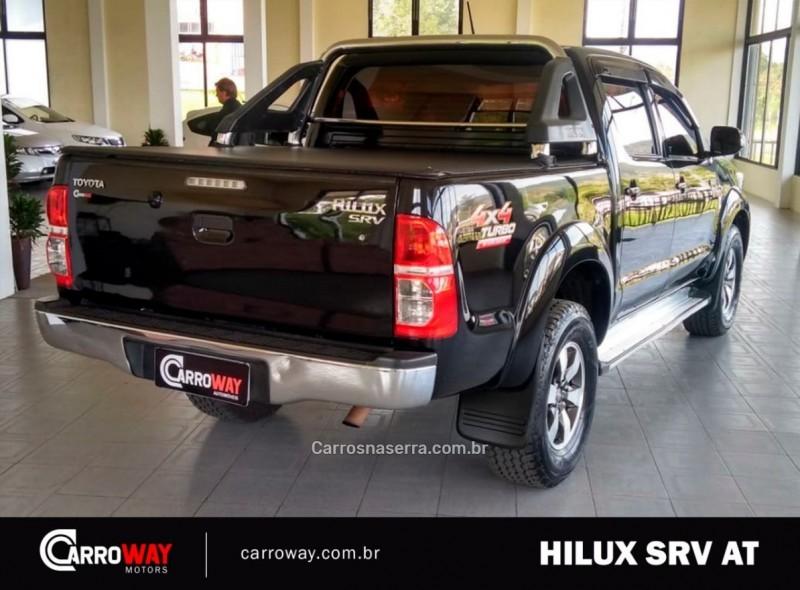 HILUX 3.0 SRV 4X4 CD 16V TURBO INTERCOOLER DIESEL 4P AUTOMÁTICO - 2013 - FELIZ