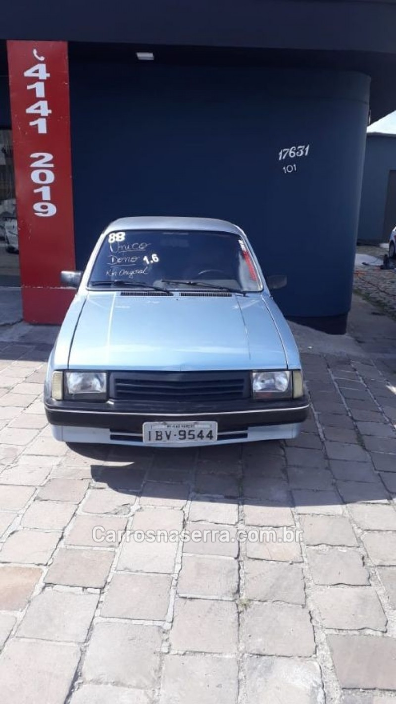 chevette 1.6 sl e 8v alcool 2p manual 1988 caxias do sul