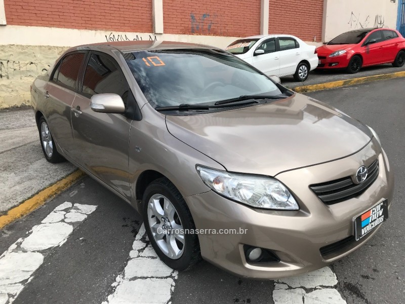 corolla 1.8 xei 16v gasolina 4p manual 2010 caxias do sul