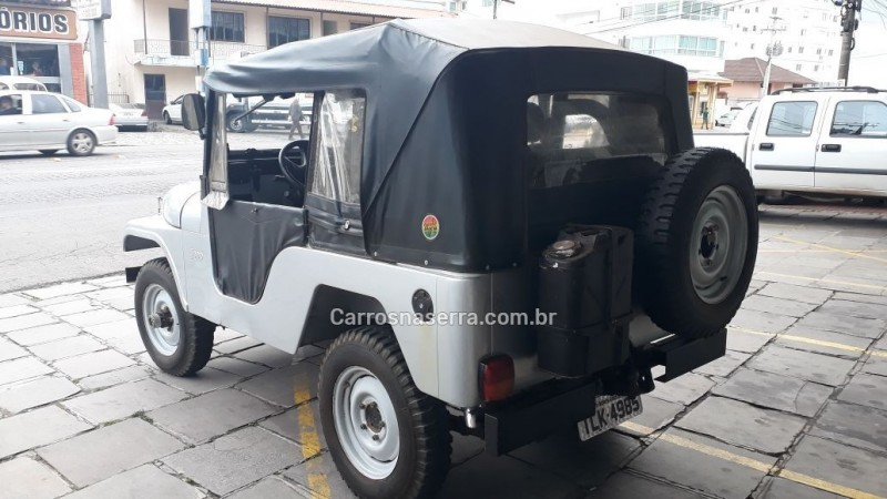 CJ 5 2.6 6I 4X4 GASOLINA 2P MANUAL - 1971 - BENTO GONçALVES
