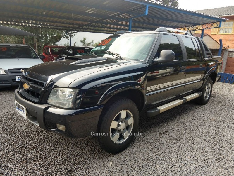 s10 2.4 mpfi executive 4x2 cd 8v flex 4p manual 2009 canela
