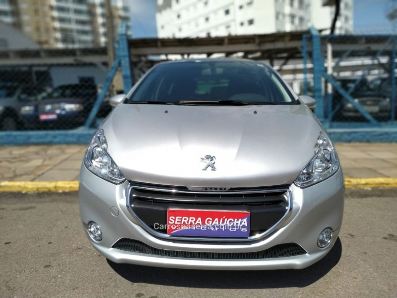 208 1.5 allure 8v flex 4p manual 2014 bento goncalves