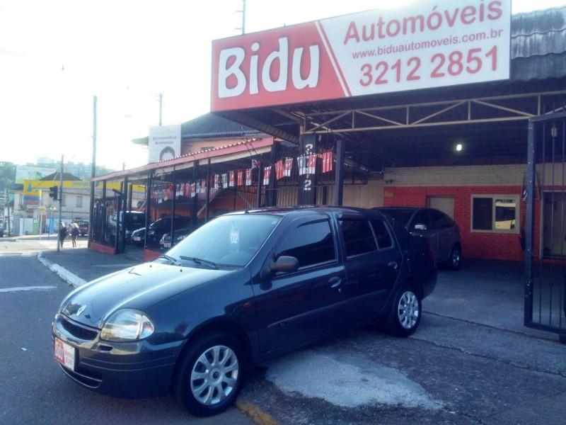 clio 1.0 rn sedan 16v gasolina 4p manual 2002 caxias do sul