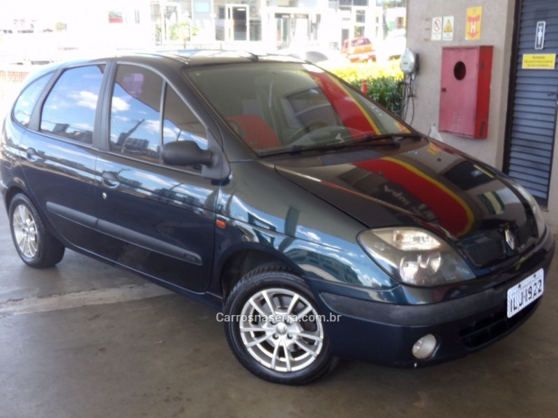 scenic 1.6 rt 16v gasolina 4p manual 2003 caxias do sul