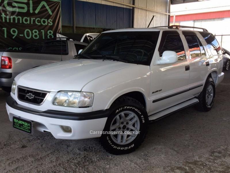 blazer 2.8 dlx 4x4 12v turbo intercooler diesel 4p manual 2000 caxias do sul