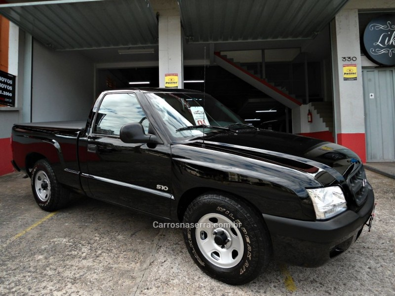 s10 2.4 mpfi 4x2 cs 8v gasolina 2p manual 2001 caxias do sul