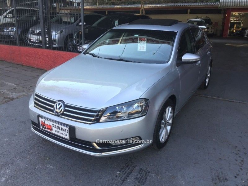 PASSAT 2.0 FSI HIGHLINE 16V TURBO GASOLINA 4P TIPTRONIC - 2012 - CAXIAS DO SUL