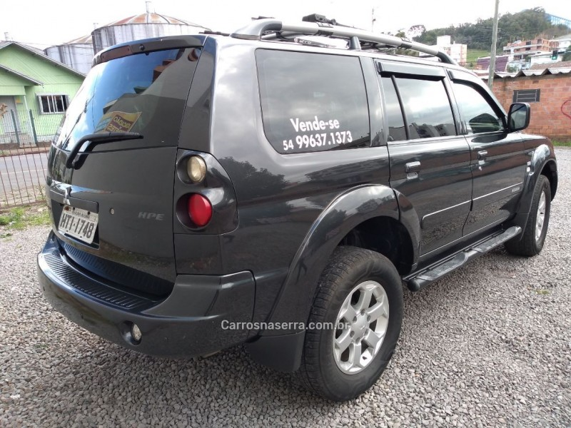 PAJERO SPORT 2.5 4X4 8V TURBO INTERCOOLER DIESEL 4P AUTOMÁTICO - 2009 - FLORES DA CUNHA