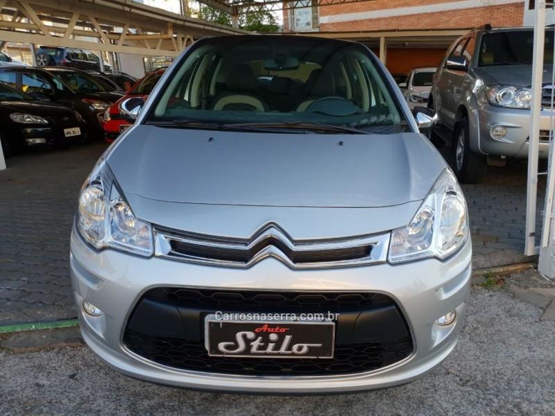 C3 1.6 EXCLUSIVE BVA 16V FLEX 4P AUTOMÁTICO - 2015 - BENTO GONçALVES