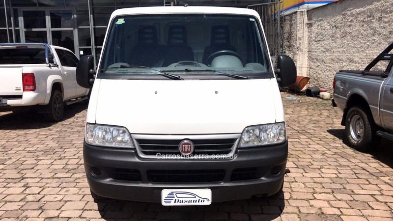 ducato 2.3 cargo 7.5 16v turbo diesel 4p manual 2014 caxias do sul