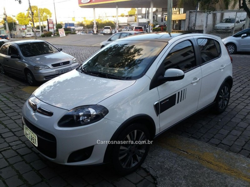 palio 1.6 mpi sporting 16v flex 4p manual 2014 caxias do sul