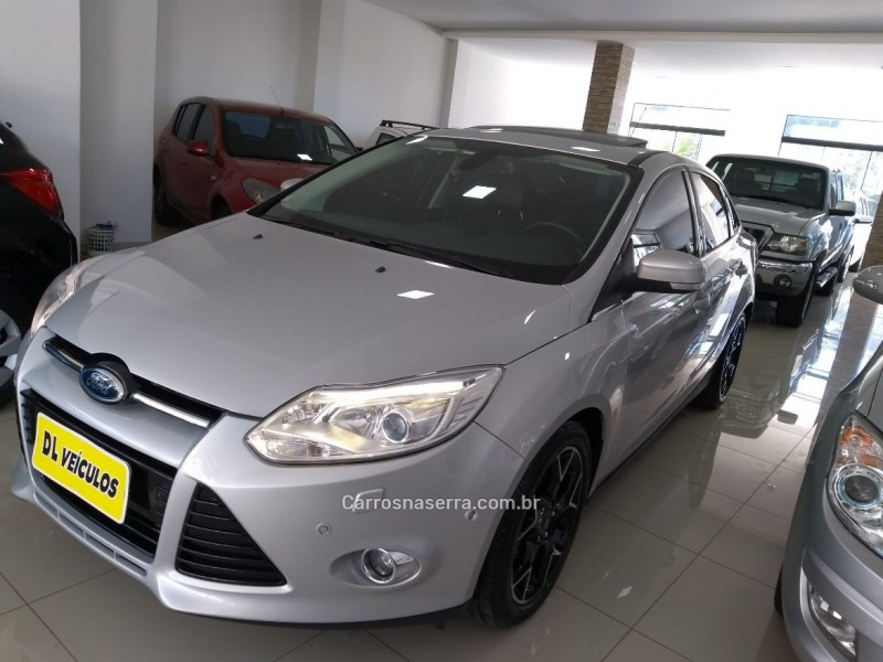 focus 2.0 titanium plus sedan 16v flex 4p powershift 2015 nova bassano