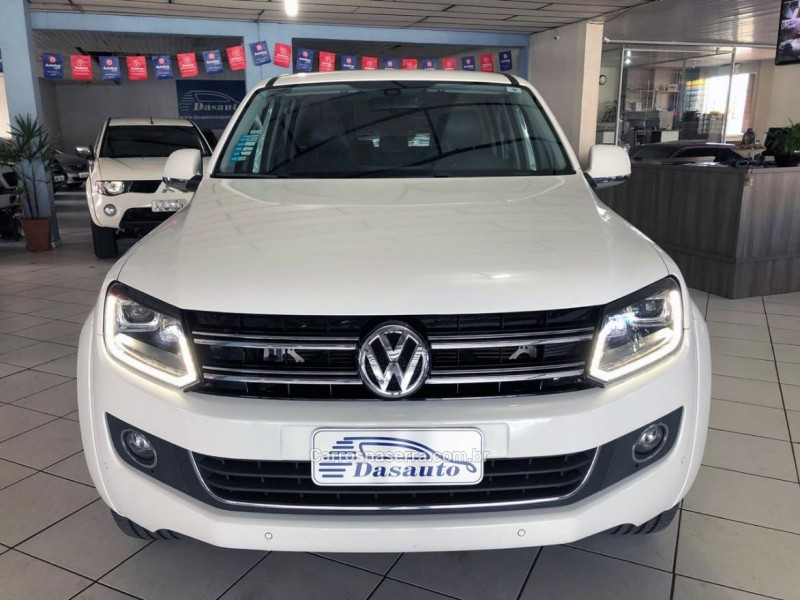 amarok 2.0 highline 4x4 cd 16v turbo intercooler diesel 4p automatico 2016 caxias do sul