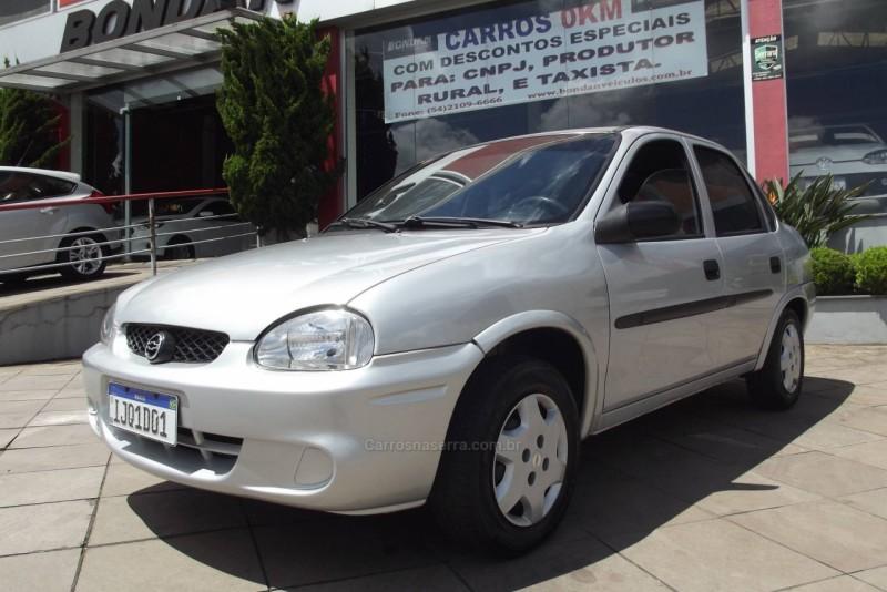 corsa 1.0 mpfi wind sedan 8v gasolina 4p manual 2001 farroupilha