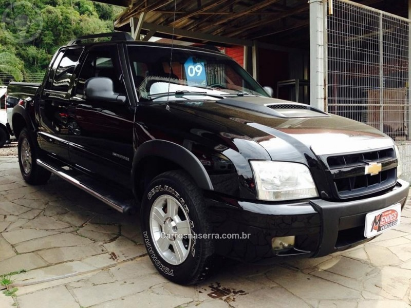 s10 2.4 mpfi advantage 4x2 cd 8v gasolina 4p manual 2009 tres coroas