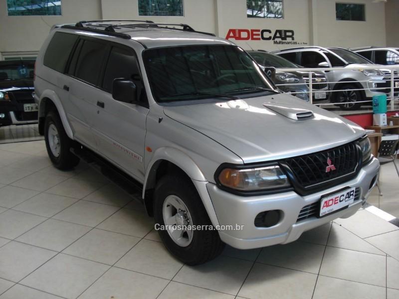 pajero sport 2.8 se 4x4 8v turbo intercooler diesel 4p automatico 2002 farroupilha