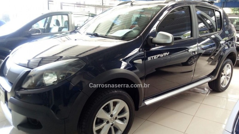 sandero 1.6 stepway 8v flex 4p manual 2013 caxias do sul