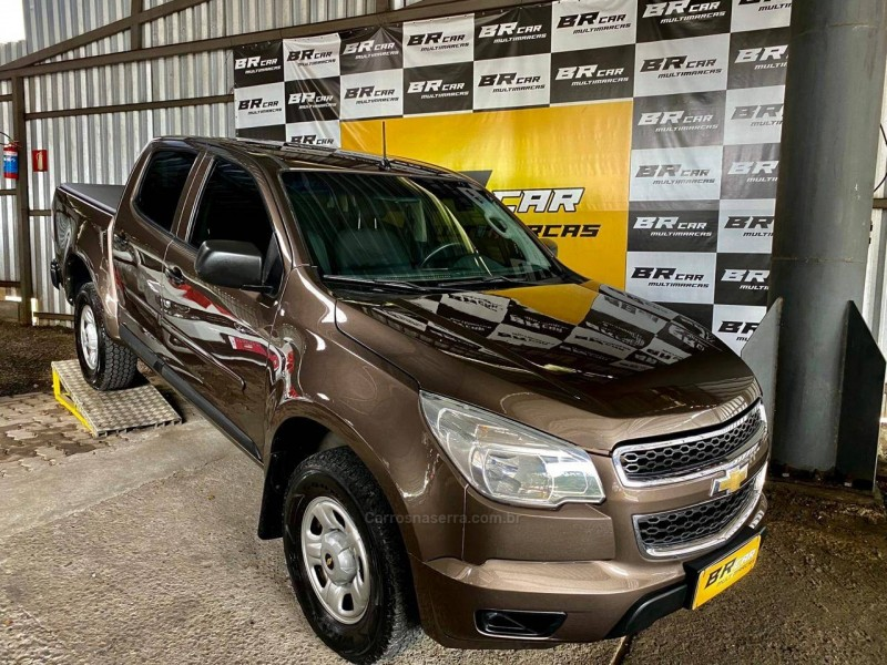 s10 2.8 ls 4x4 cd 16v turbo diesel 4p manual 2013 caxias do sul