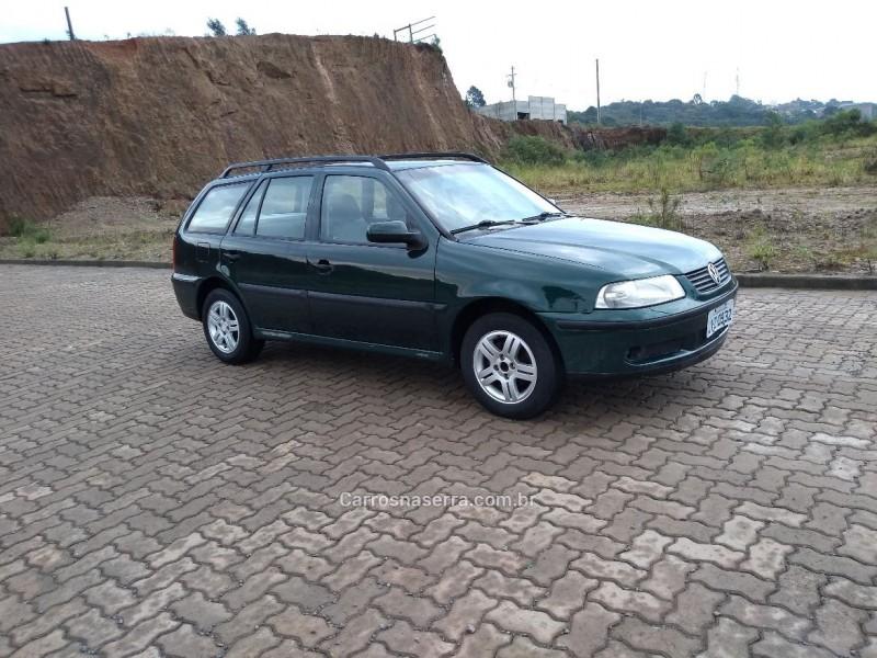 parati 1.8 mi plus gasolina 4p manual 2000 caxias do sul