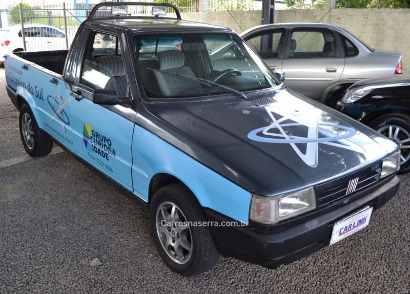 fiorino 1.5 lx pick up cs 8v gasolina 2p manual 1995 vacaria
