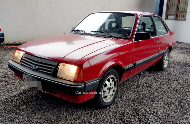 chevette 1.6 dl 8v gasolina 2p manual 1992 bento goncalves