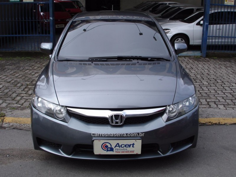 civic 1.8 lxs 16v flex 4p automatico 2010 caxias do sul