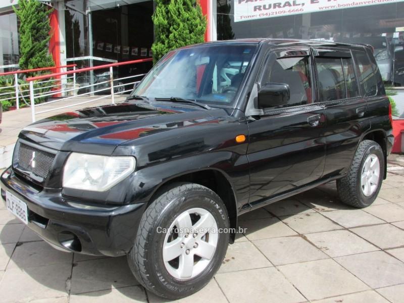pajero tr4 2.0 4x4 16v 131cv gasolina 4p automatico 2003 farroupilha