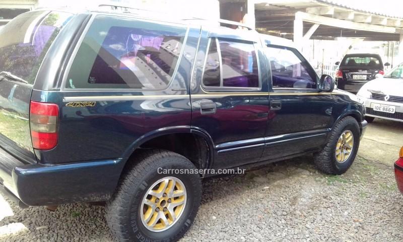 blazer 4.3 sfi dlx executive 4x4 v6 12v gasolina 4p automatico 1999 caxias do sul