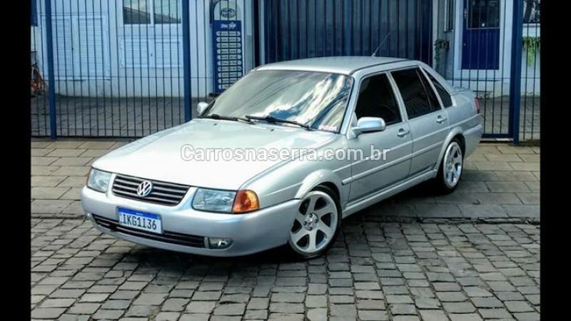 santana 2.0 mi 8v gasolina 4p manual 2002 caxias do sul
