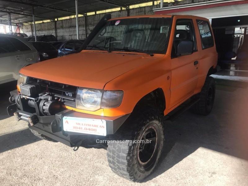 pajero 3.5 gls 4x4 v6 24v gasolina 2p manual 1999 caxias do sul