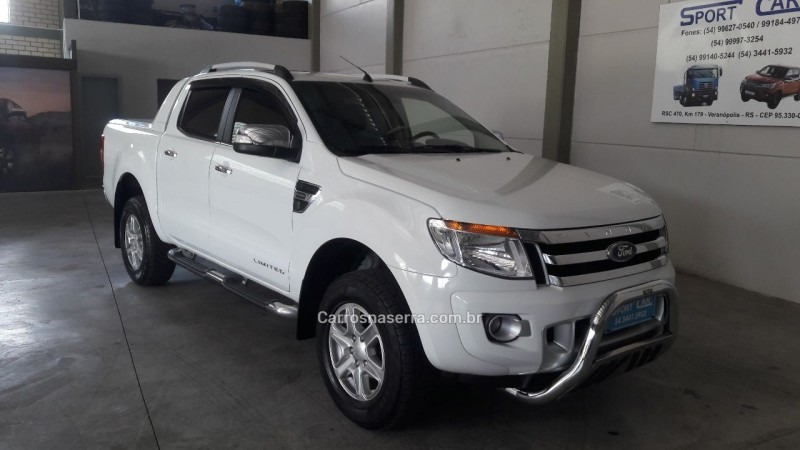 ranger 2.5 limited 4x2 cd 16v flex 4p manual 2013 veranopolis