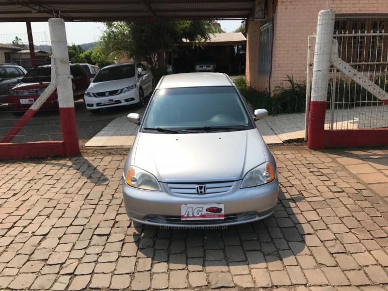 civic 1.7 lx 16v gasolina 4p automatico 2002 casca