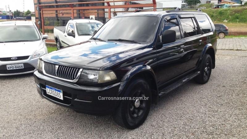 pajero sport 3.0 4x2 v6 24v gasolina 4p automatico 1999 farroupilha