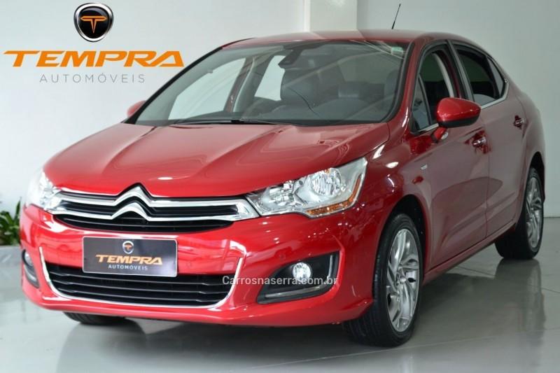 c4 lounge 1.6 exclusive 16v turbo gasolina 4p automatico 2014 passo fundo