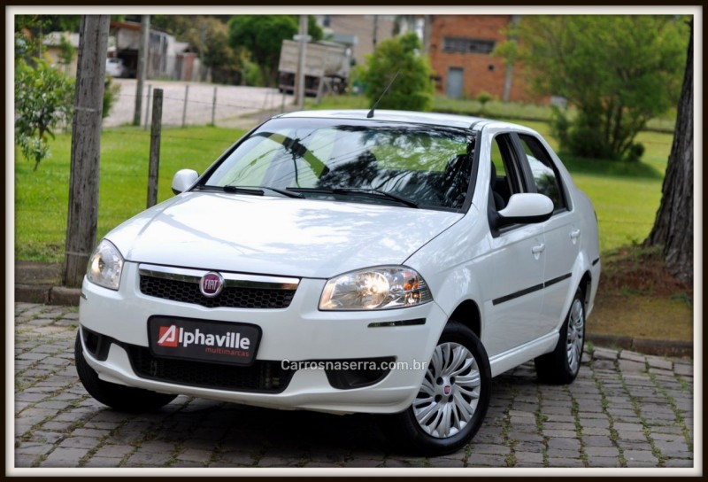 SIENA 1.4 MPI EL 8V FLEX 4P MANUAL - 2015 - CAXIAS DO SUL