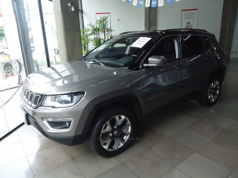 compass 2.0 16v diesel limited 4x4 automatico 2018 caxias do sul