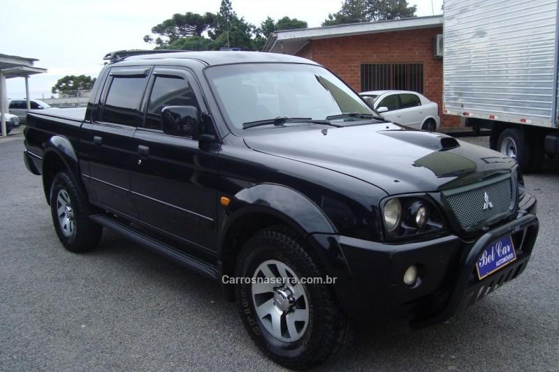 l200 2.5 sport hpe 4x4 cd 8v turbo intercooler diesel 4p manual 2006 caxias do sul