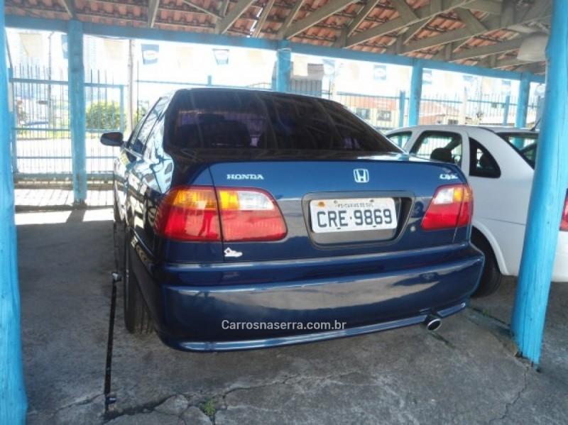 civic 1.6 lx 16v gasolina 4p manual 1999 caxias do sul