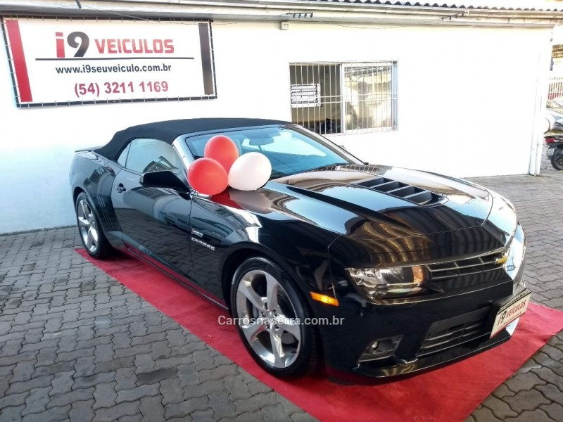 camaro 6.2 ss conversivel v8 gasolina 2p manual 2015 caxias do sul