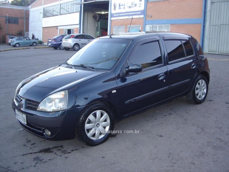clio 1.0 privilege 16v gasolina 4p manual 2005 caxias do sul