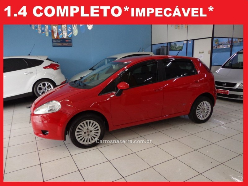punto 1.4 attractive 8v flex 4p manual 2011 caxias do sul
