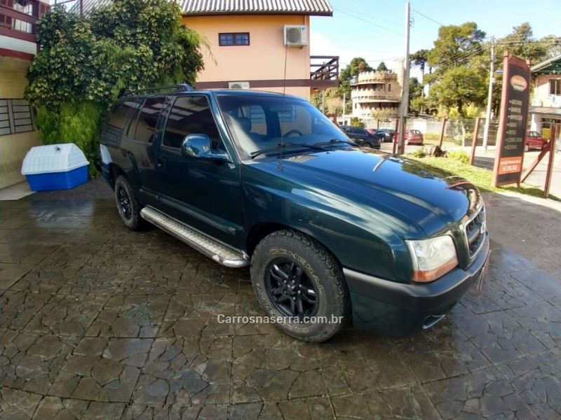 blazer 2.8 dlx 4x4 12v turbo intercooler diesel 4p manual 2001 gramado