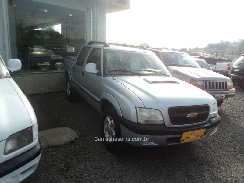 s10 2.8 colina 4x2 cd 12v turbo electronic intercooler diesel 4p manual 2008 farroupilha
