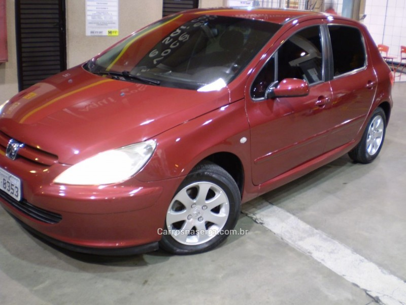 307 2.0 rallye 16v gasolina 4p manual 2005 caxias do sul
