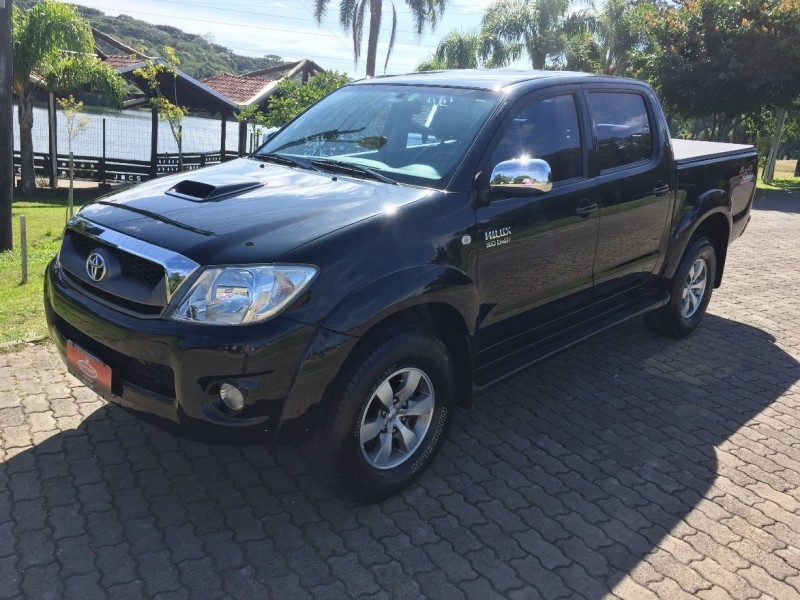 hilux 3.0 srv 4x4 cd 16v turbo intercooler diesel 4p automatico 2010 caxias do sul