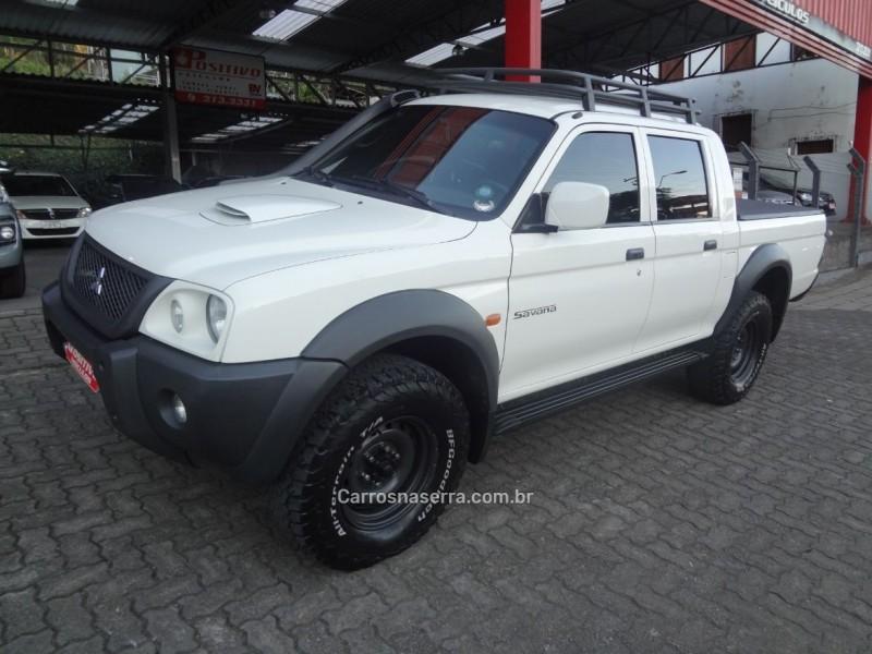 l200 savana 2.5 4x4 cd 8v turbo diesel 4p manual 2009 caxias do sul
